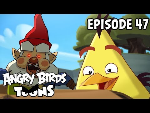 Angry Birds Toons | Oh Gnome! - S1 Ep47