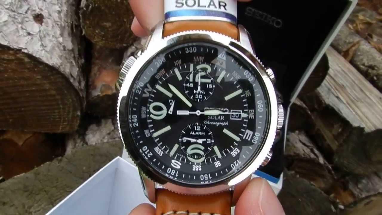 SEIKO Watch Limited Edition SNAE75P1 SSB073J1 Sportura FC