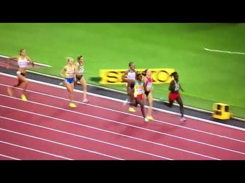 800m Women Heat 6 IAAF World Champs London 2017