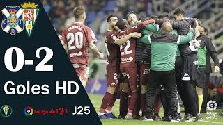 Tenerife 0-2 Córdoba   Todos los goles   Liga 1,2,3 2018/19
