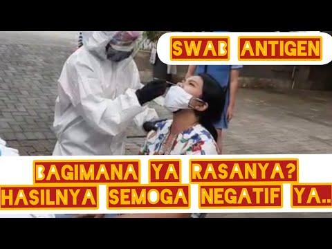 #Swab #antigen Begini Ya Rasanya...II Pengalaman Pertama Kali Swab Antigen