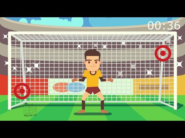 Easy PE Projector S1E2: Penalty Shootout (Soccer Shooting Game)