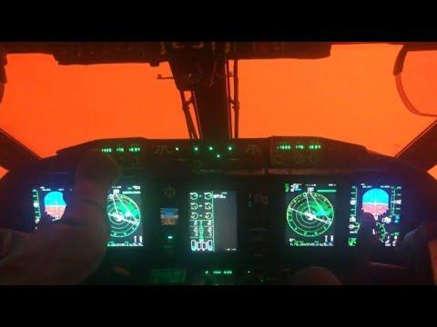 Flugzeuglandung In Australiens Feuerhölle