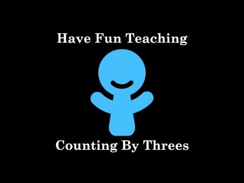 Counting by Three Song - YouTube