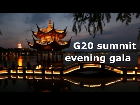 G20 summit evening gala, fireworks display