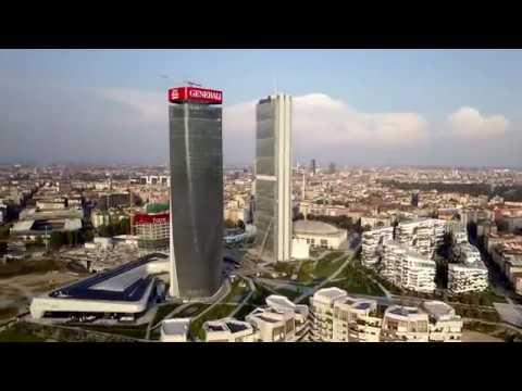 City Life Milano   DJI MAVIC PRO (4K)