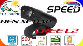 Đèn Xe Đạp CREE-L2   Đèn LED Siêu Sáng Chống Nước   Sạc USB Giá 200k