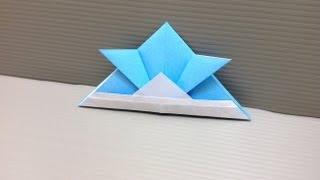 Daily Origami: 002 - Samurai Helmet