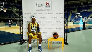 Siesta Exclusive | Turkish Airlines Euroleague Media Day - Bobby Dixon