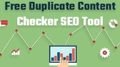 Plagiarism Checker Tool Free | Duplicate Content Checker SEO | Check Plagiarism Free