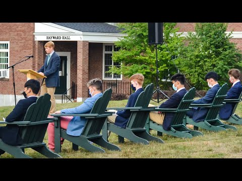 Opening Ceremony at Cardigan Mountain School 2020