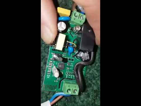 Missing gpio 14 on new Sonoff basic (RF R2 V1 0) found - YouTube