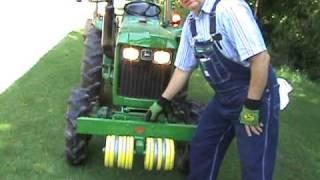 john deere 750 compact utility tractor receiver