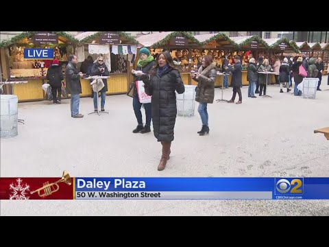 The Christkindlmarket Market Officially Opens For The Holiday Season