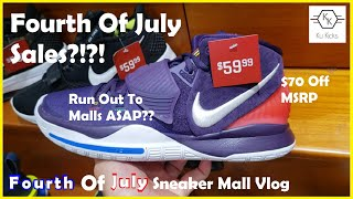 July 4th Weekend Sales That Crazy? Sneaker Mall Vlog