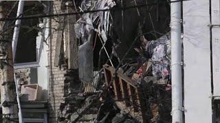 В Орехово-Зуево МЧС спасли кота при разборе завалов