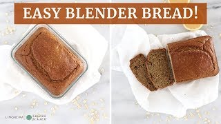 How To Make Gluten-Free Bread!! Lemon Oat Blender Bread | Limoneira