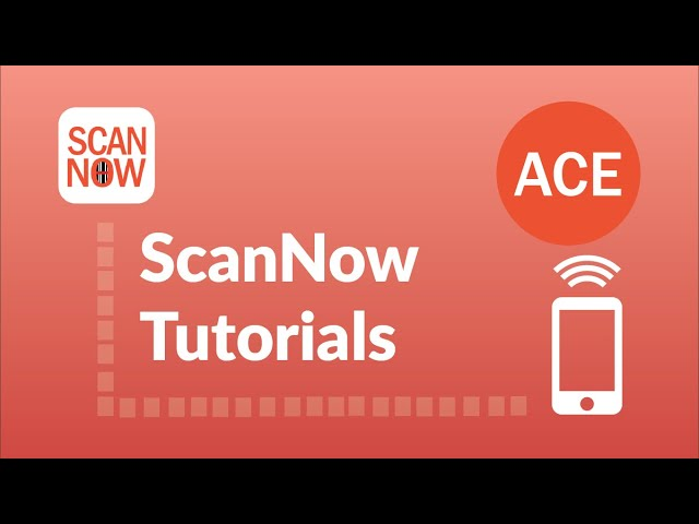 NEW ScanNow Feature - Scannable Sales Orders