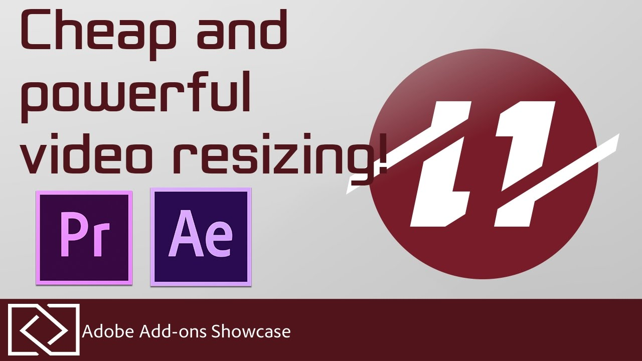 Super Resolution Resize - Good and Inexpensive Video Upscaling!? - Adobe  Add-ons Showcase