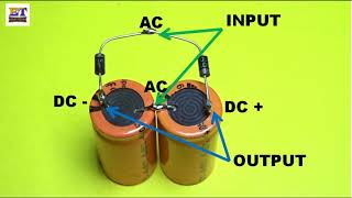 Voltage Doubler Using Two Capacitor