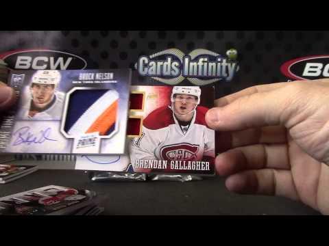 2013/14 Panini PRIME Hockey 8 Box Case Break GB 2