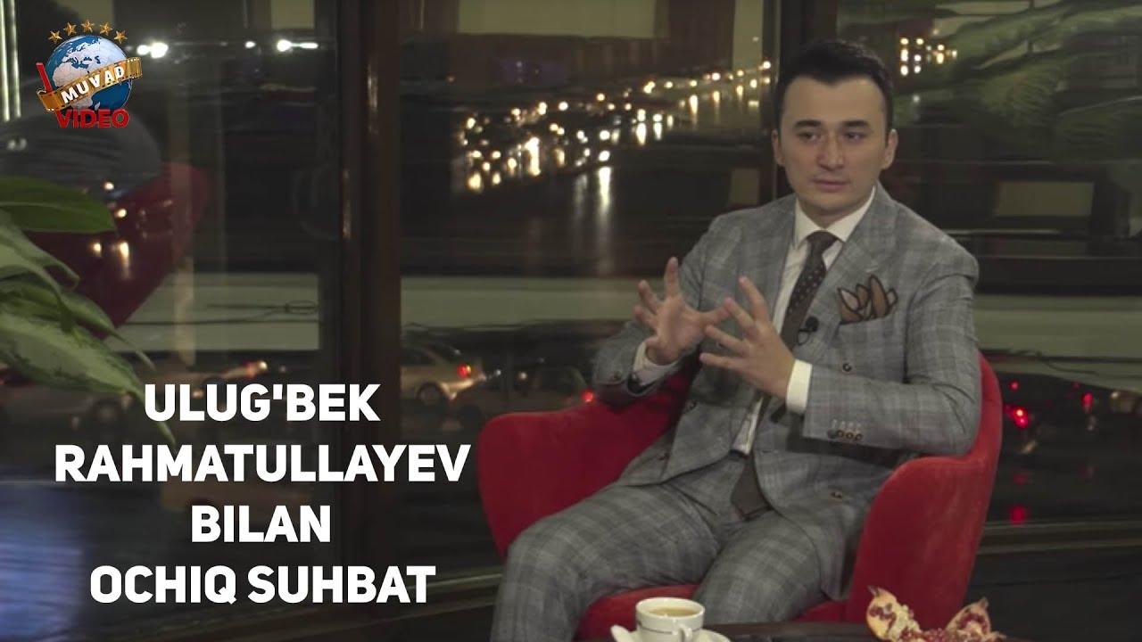Ulug'bek Rahmatullayev bilan Ochiq suhbat