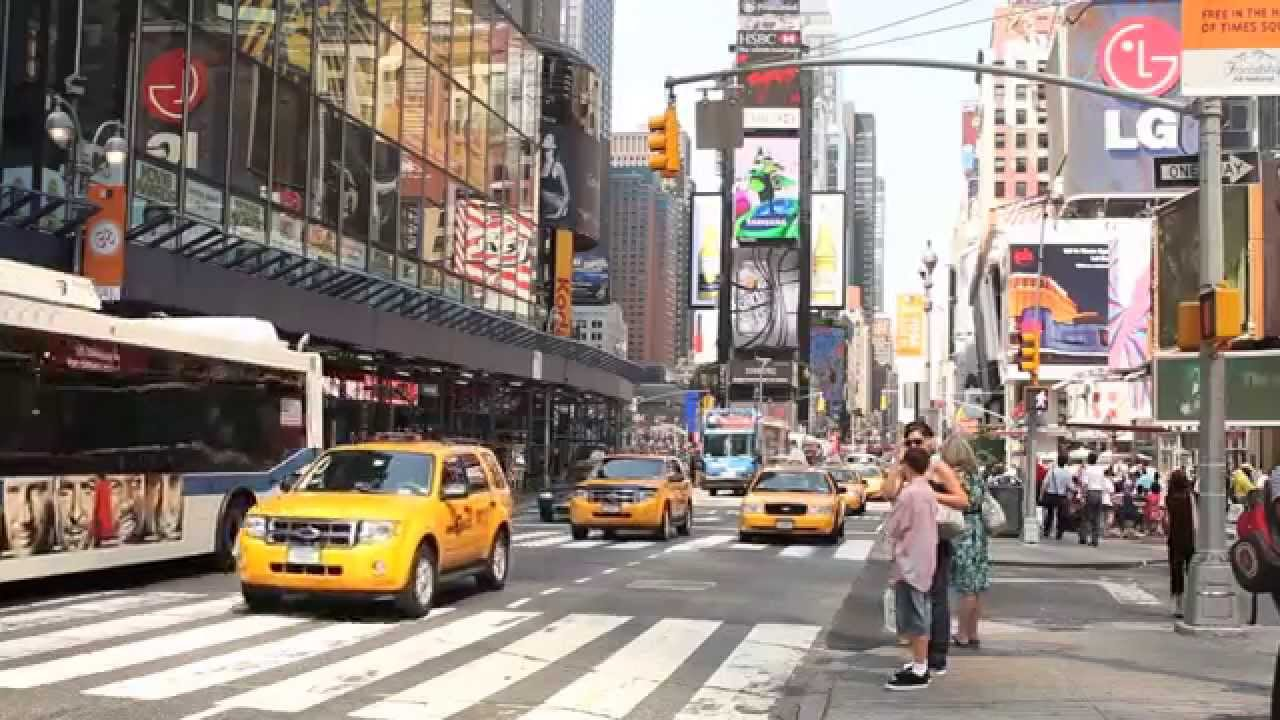 ted times square real new york tours youtube. Black Bedroom Furniture Sets. Home Design Ideas