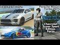 Forza 7 #Forzathon Porsche Macan, Mazda MX-5 Edition Forza, Chevrolet super sport edition forza