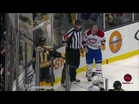 Every fight from last night's Bruins and Canadiens game! Let's Go Bruins! Greg Campbell FTW