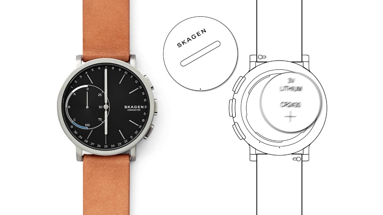 Skagen Hybrid Smartwatch How To Replace Battery And Change Strap