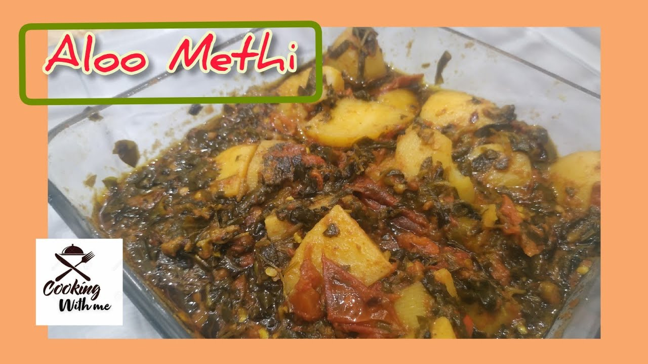 Aloo Methi ki Sabzi | how to make aloo methi | fenugreek potatoes | Cooking with Me