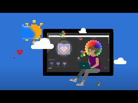 Welcome to Microsoft Expressive Pixels (1 of 9)