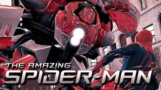 The Amazing Spider-Man Gameplay German - Fliegender Killer Roboter