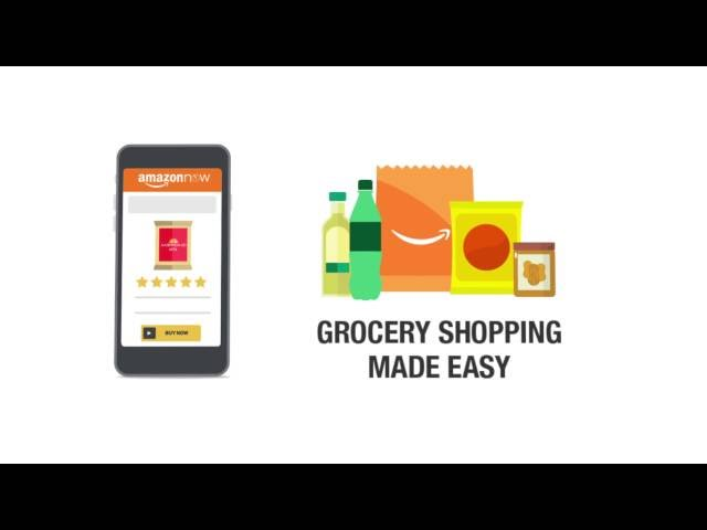 Amazon Now – Grocery shopping with 2 Hour delivery