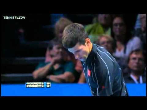 Novak Djokovic Vs Federer Barclays ATP World Tour Finals 2013 Round-Robin Full Match
