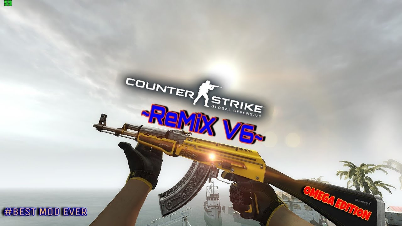 CSGO - ReMiX_v3 (Online Edition) Mod For CS 1 6 for Counter