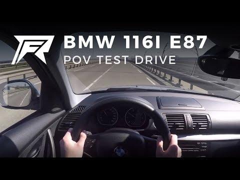 2010 BMW 116i E87 - POV Test Drive