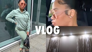 VLOG : ALMOST GETTING FIRED , BEDROOM LIGHTING HACK , NIGHT TIME FACE + HAIR ROUTINE + MORE | KIRAH