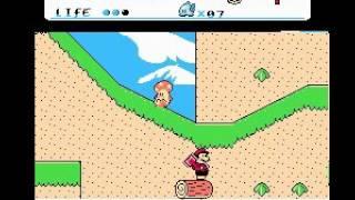 Super Bros. 8 [NES] játékmenet (gameplay)