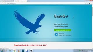 Download lagu How to use eagleget complete in Urdu/Hindi