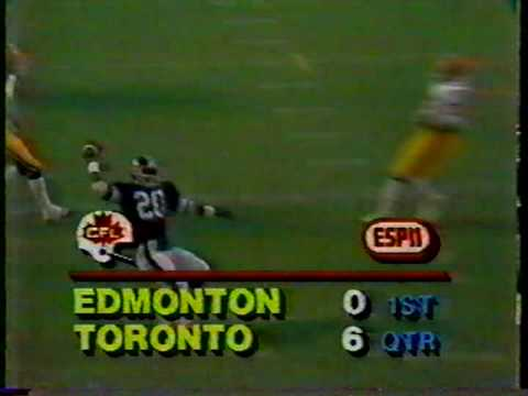 CFL 1982: Edmonton at Toronto (part 1)
