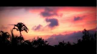 Yoga Music, Relaxing Music - Pink Sky in Bali - Twilight Hour -