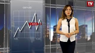 InstaForex tv news: EUR being sold, but GBP struggling for gains   (10.07.2018)