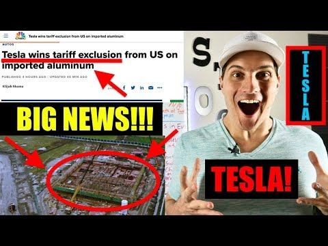 Tesla Wins Tariff Exclusion Plus Big China Gigafactory Update
