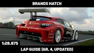 Gran Turismo Sport - Daily Race Lap Guide - Brands Hatch GP - Renault Sport Megane Trophy Gr. 4