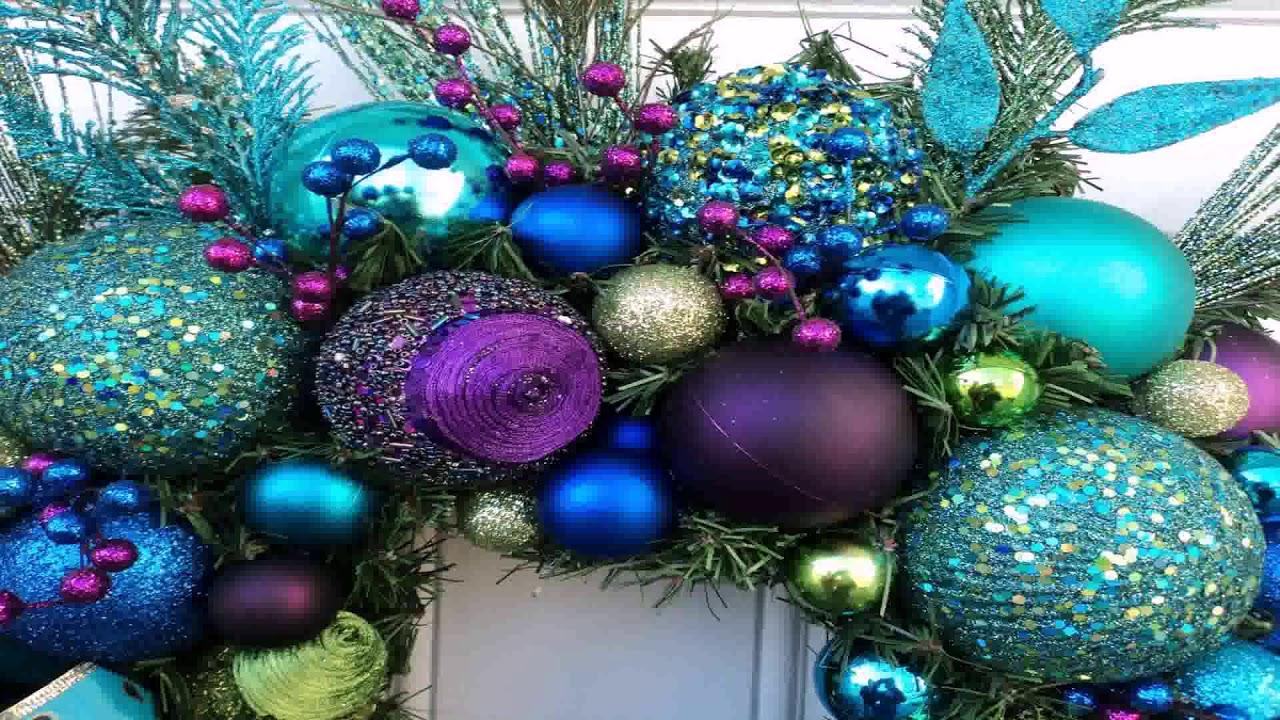 Christmas Tree Decorating Ideas Peacock Youtube