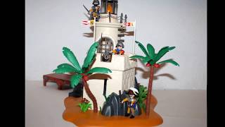 playmobil piratas faro 4294