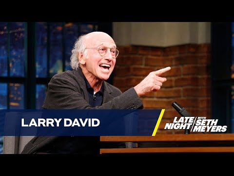 Larry David Wants to Be Jennifer Lawrence