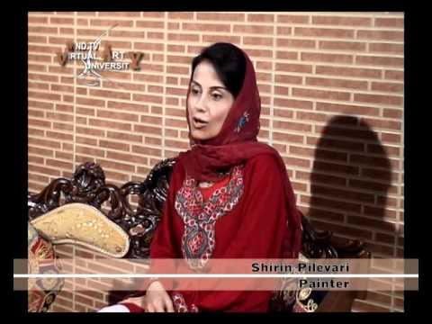 Shirin pilehvari's interview with channel wind in Dubai 2007