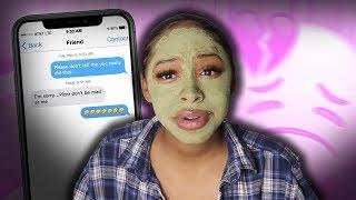 face mask & chill: my best friend slept with my boyfriend (true story)